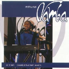 Mthunzi Namba - Let It Rain - Live From Soweto (CD)