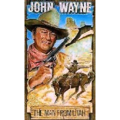 The Man From Utah - John Wayne (DVD)