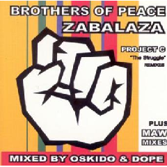 Brothers Of Peace - Zabalaza : Project C (CD)