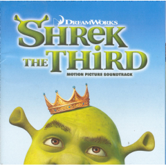 Shrek the Third OST (CD)