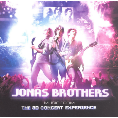 Jonas Brothers - 3-D Concert Experience (CD)