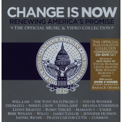 Change Is Now - Change Is Now - Renewing America's Promise (CD + DVD)