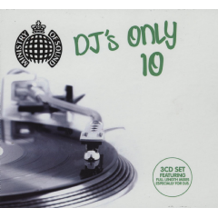 Ministry Of Sound - DJs Only 10 (CD)