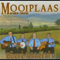 Mooiplaas Boere Orkes - Boere-Lekkerkry (CD)