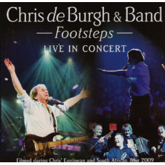 Chris De Burgh - Footsteps - Live In Concert (CD + DVD)