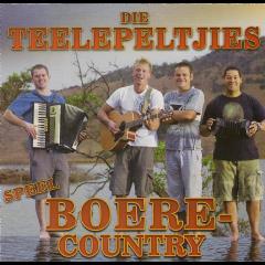 Die Teelepeltjies - Speel Boere-Country (CD)