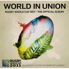 World In Union - World In Union 2011- Rugby World Cup 2011 - The Official Album (CD)