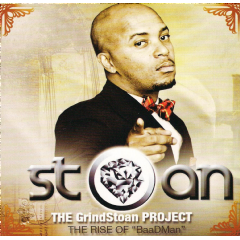 """Stoan - The GrindStoan Project - The Rise Of """"BaaDMan"""" (CD)"""