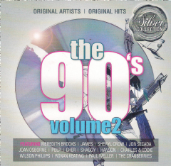 90's Volume 2 - 90's - Vol.2 Silver Collection (CD)
