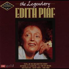 Edith Piaf - Legendary Edith Piaf (CD)