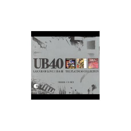 UB40 - Labour Of Love 1, 2 & 3 - Platinum Collection (CD)