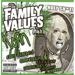 Family Values Tour 2006 - Various Artists (CD)