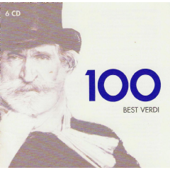 100 Best Verdi - Various Artists (CD)