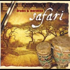 Drums & Marimba Safari - Various Artists (CD)