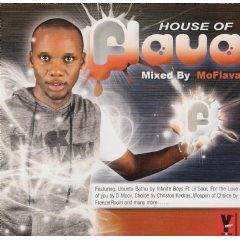 Mo Flava - The House Of Flava - Presented By MoFlava (CD)