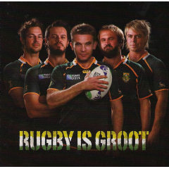 Rugby Is Groot - Various Artists (CD)
