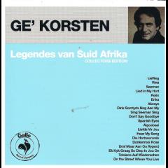 Korsten, Ge - Legendes Van Suid Afrika (CD)