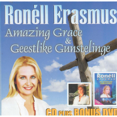 Erasmus, Ronell - Amazing Grace / My Gestliek Gunstelinge (CD + DVD)