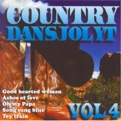 Country Dansjolyt - Vol.4 - Various Artists (CD)
