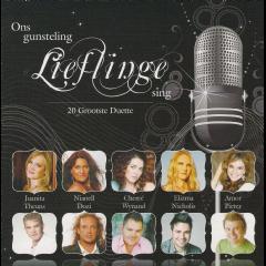 Ons Gunsteling Lieflinge Sing - 20 Grootste Duette - Various Artists (CD)