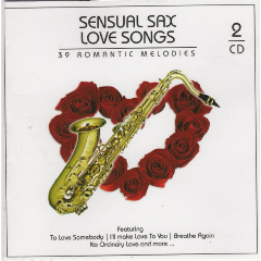 Sensual Sax Love Songs - Various Artists (CD)