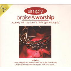 Simply Praise & Worship - Journey With The Lord / Strong And Mighty - Various Artists (CD + DVD)