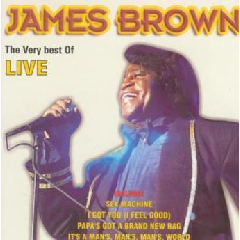 Brown, James - Very Best Of James Brown - Live (CD)