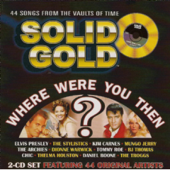 Solid Gold - Where Were You Then? - Various Artists (CD)