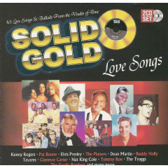 Solid Gold - Love Songs - Various Artists (CD)