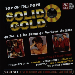 Solid Gold - 40 No.1 Hits - Various Artists (CD)