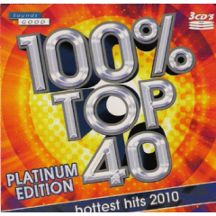100% Top 40 Platinum Edition 2010 - Various Artists (CD)
