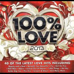 100% Love 2013 - Various Artists (CD)