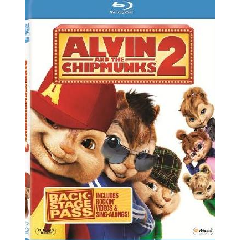 Alvin and the Chipmunks 2: The Squeakquel (2009) (Blu-ray)