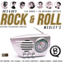 Rock 'n Roll Medleys 50's & 60's Remixed - Various Artists (CD)