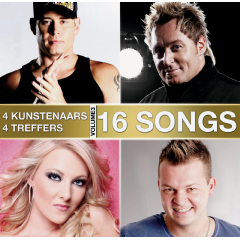 16 Songs 4 Kunstenaars 4 Treffers - Vol.3 - Various Artists (CD)