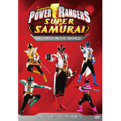 Power Rangers - A Crack in the World (DVD)