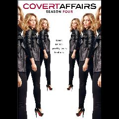 Covert Affairs Season 4 (DVD)
