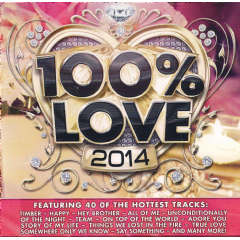 Audiogroove - 100% Love 2014 (CD)