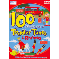 100 Favourite Toddler Tunes - (DVD)