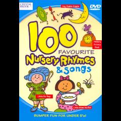 100 Favourite Nursery Rhymes & Songs - (DVD)