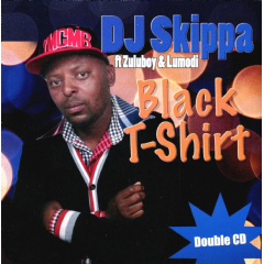 Dj Skippa - Black T-Shirt (CD)