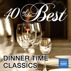 40 Of The Best: Dinner Time Classics - Various Artists (CD)