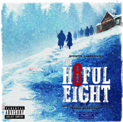 Quentin Tatantino's The Hateful Eight - The Hateful Eight (CD)