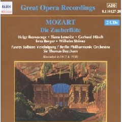 Berlin Philharmonic Orchestra - Die Zauberflote (CD)