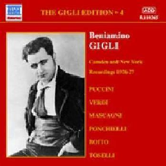 Puccini/Verdi/Ponchelli/Boito - Gigli Edition Vol.4;Bourdon (CD)