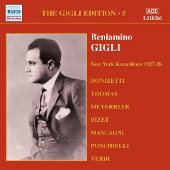 Various Composers - Gigli Edition Vol.5;Galli-Curci (CD)