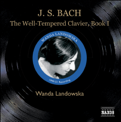 Bach Johann Sebasrian - The Well-Tempered Clavier Book (CD)