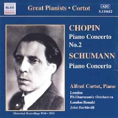 Alfred Cortot - Cortot Plays Chopin & Schumann Piano Concertos (CD)