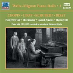 Welte - Mignon Piano Rolls - Vol.1 - Various Artists (CD)