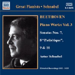 Beethoven - Piano Sonatas Vol.3;Schnabel (CD)